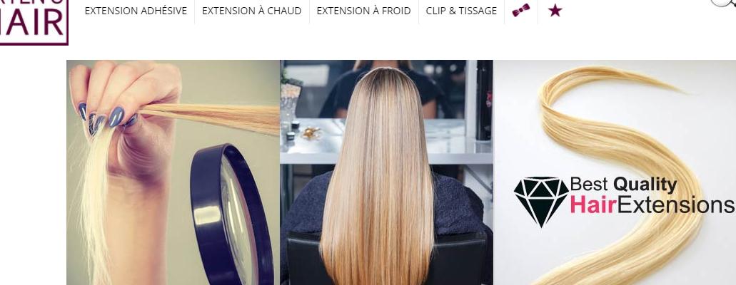 extens hair comme rajout de chevexu, extensions rur paris parseille et lyon