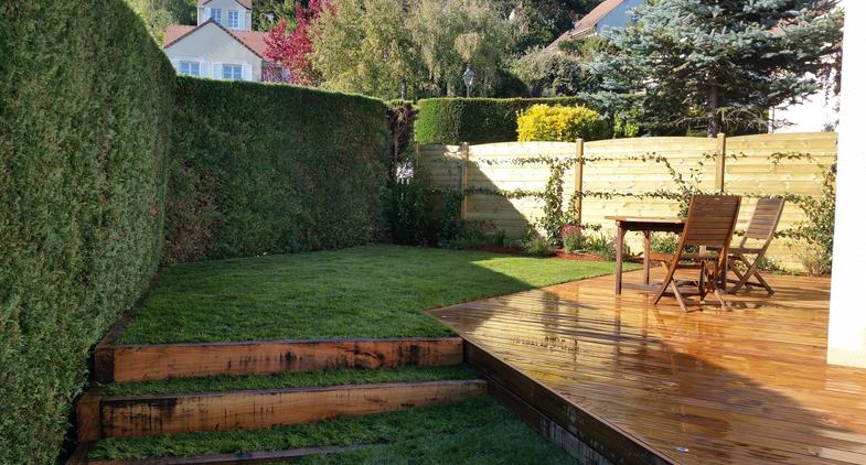 maison super jardin