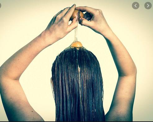 Entretient narurel de cheveux
